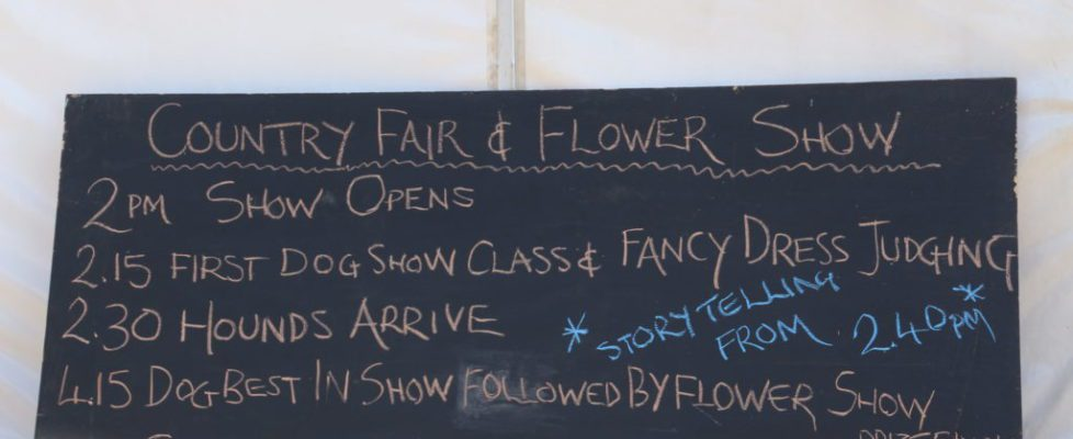 Flower Show and Country Fair