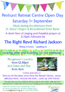 Penhurst Retreat Centre Open Day @ Penhurst Retreat Centre
