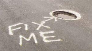 pothole fix me